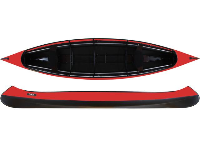 Triton advanced Canoe red/black